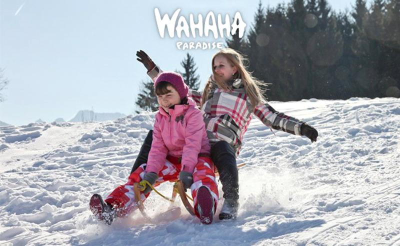 Für Sportsfreunde ist im Winter Wahaha-Time