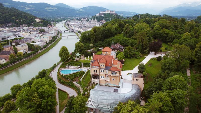 Einen Tag ausspannen über den Dächern von Salzburg