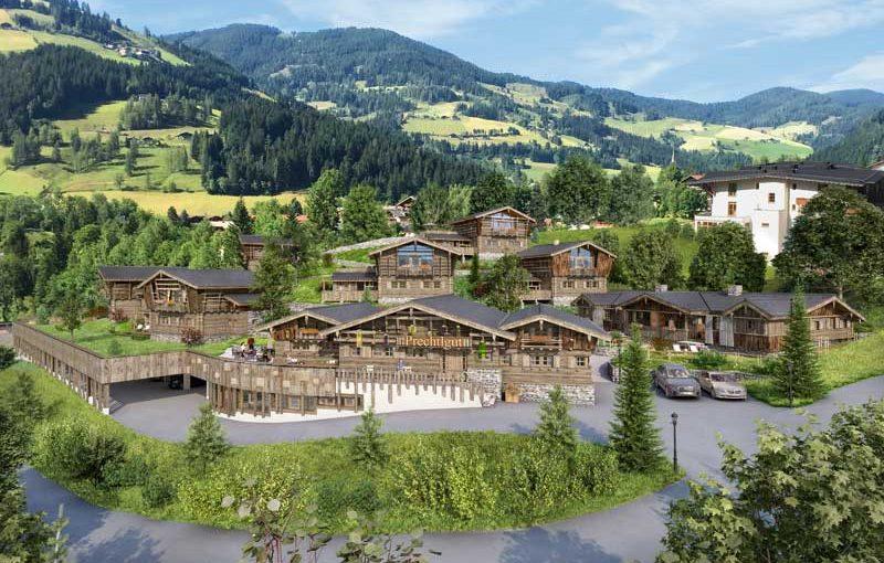 Kuscheln hoch zwei im Bergdorf Prechtlgut in Wagrain